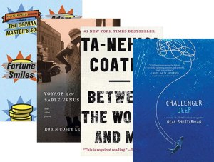National Book awards book covers