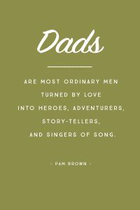 Quote on being a dad