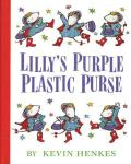 Lilys Purple Plastic Purse