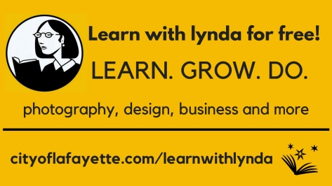 Learn with Lynda .com and the Library