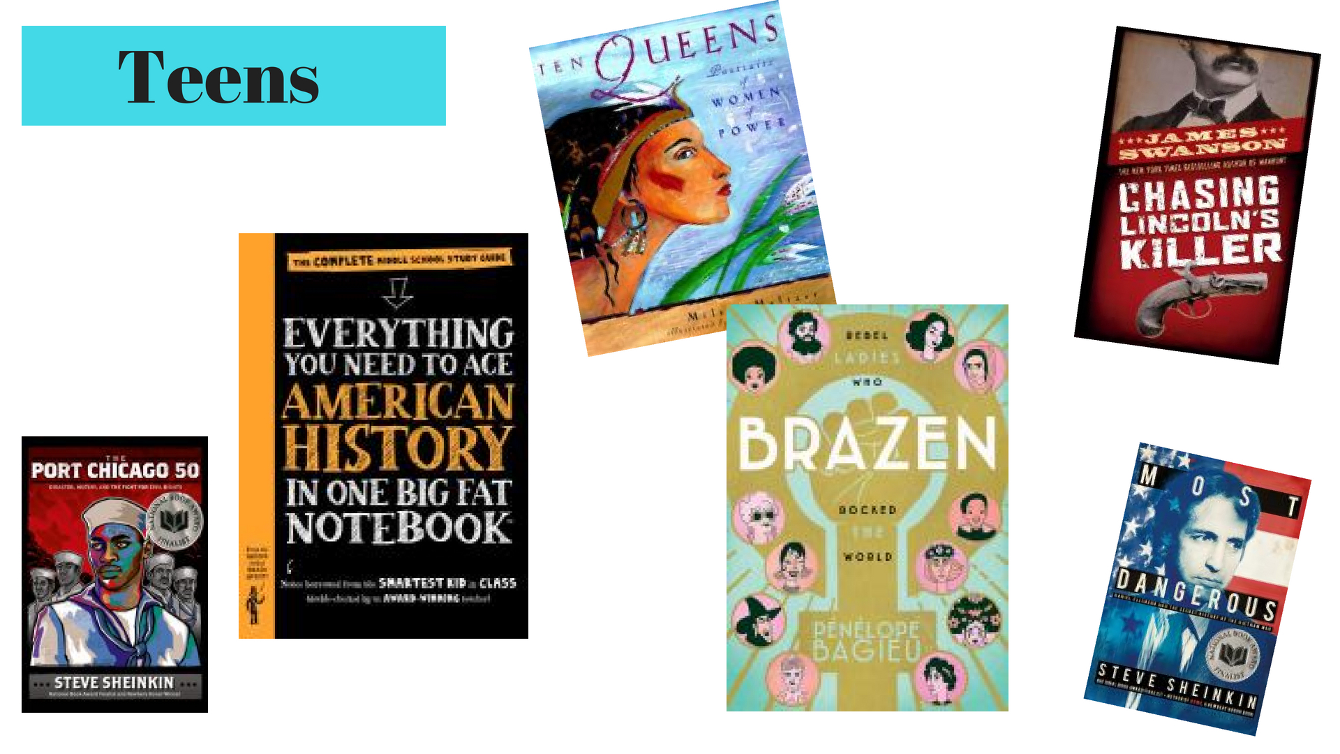 Nonfiction for teens that's something