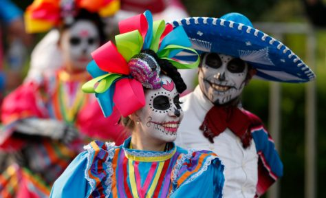Day of the Dead dancers