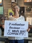 Volunteer May Lowry