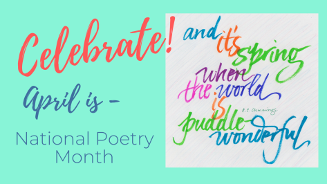 April is Poetry Month